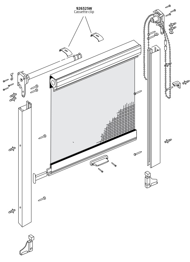 Made to Measure Fly Screen Components
