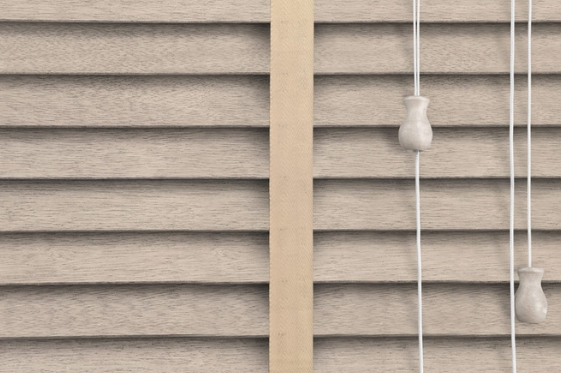 50mm Faux wood venetian blinds