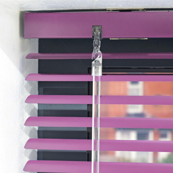 Commercial Office Metal Venetian Blinds 25mm