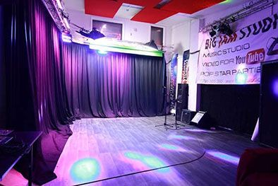 Stage Curtains and Studio Drapes