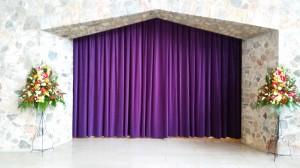 Crematorium Curtains and Voiles
