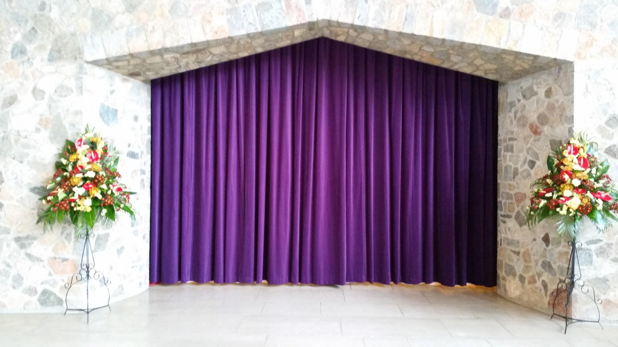 Crematorium Curtains and Voiles