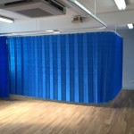Physiotherapy Cubicle Tracks and Curtains
