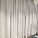 Pencil Pleat Voile curtains