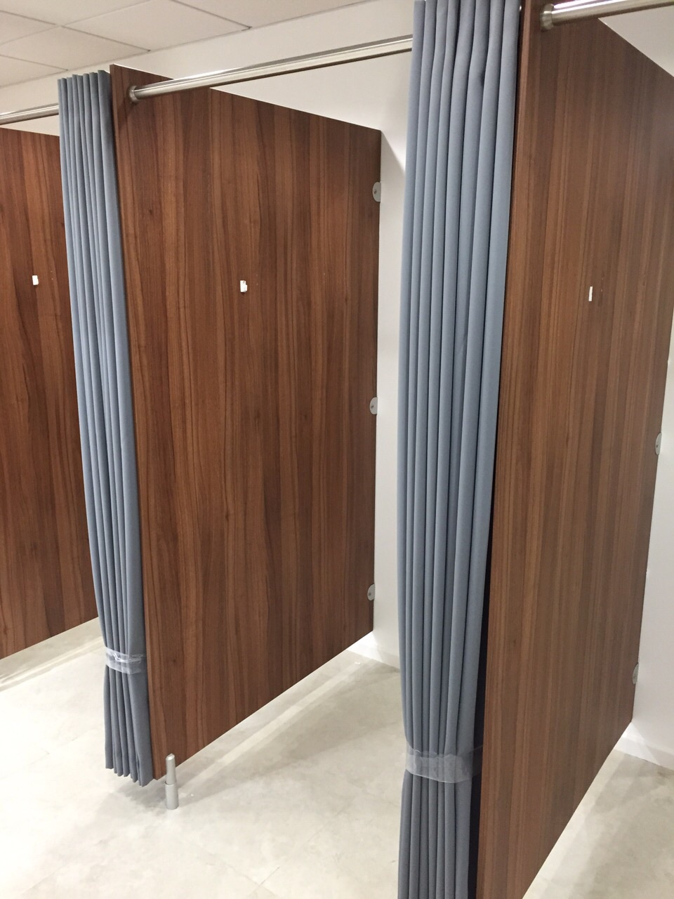 Shop Fitting Room Cubicle Curtains For Pep Amp Co Stores In