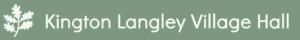 Kington Langley village Hall Logo
