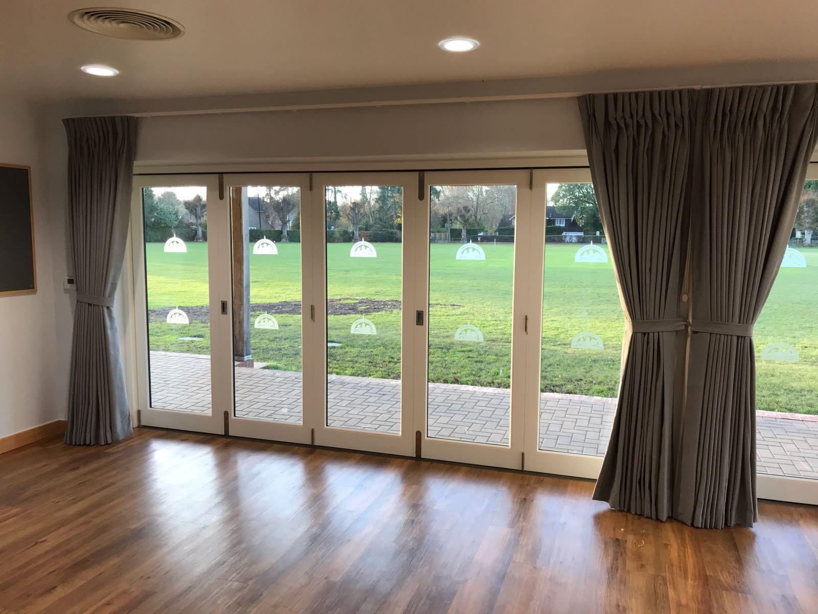 Bifold Door Curtains