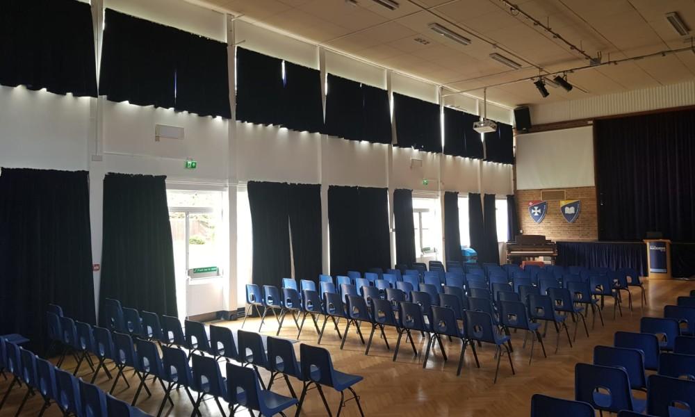 Main Hall Curtains