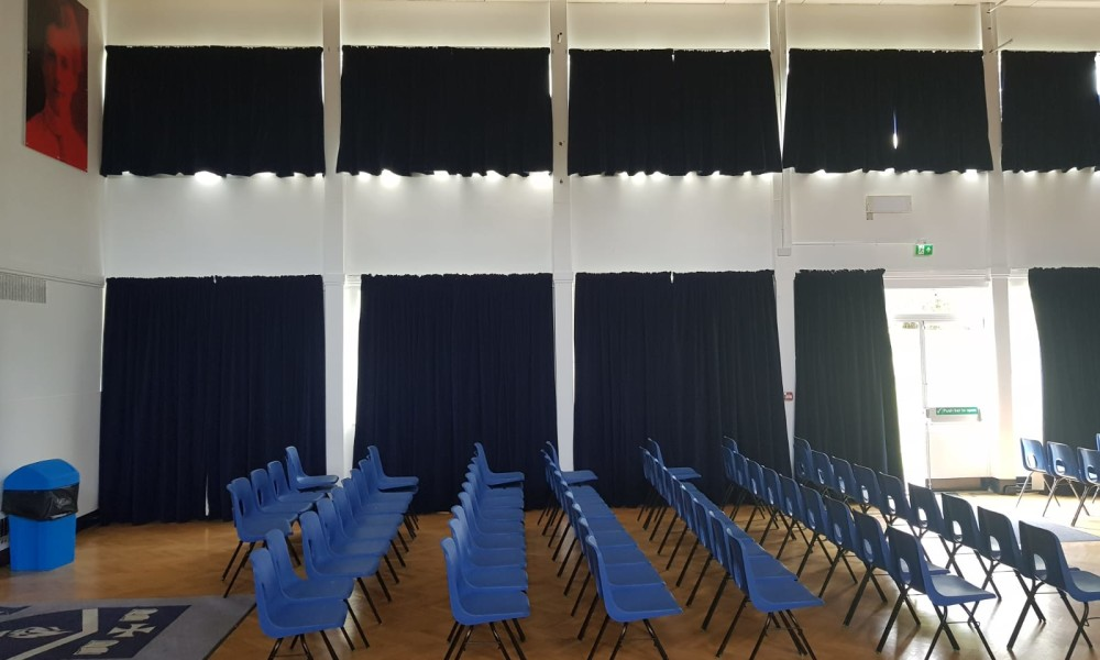 School Hall Curtains