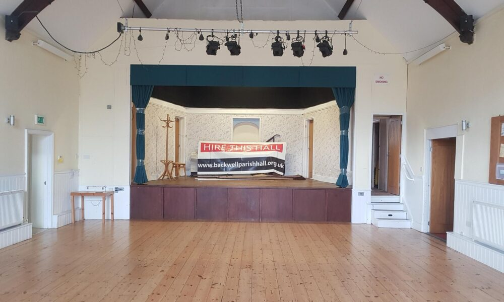 Village Hall Acoustic Stage Curtains
